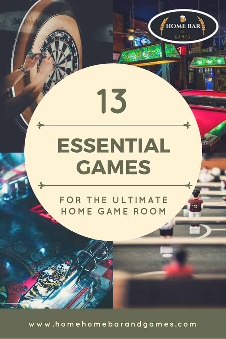 13 essential games for your home game room