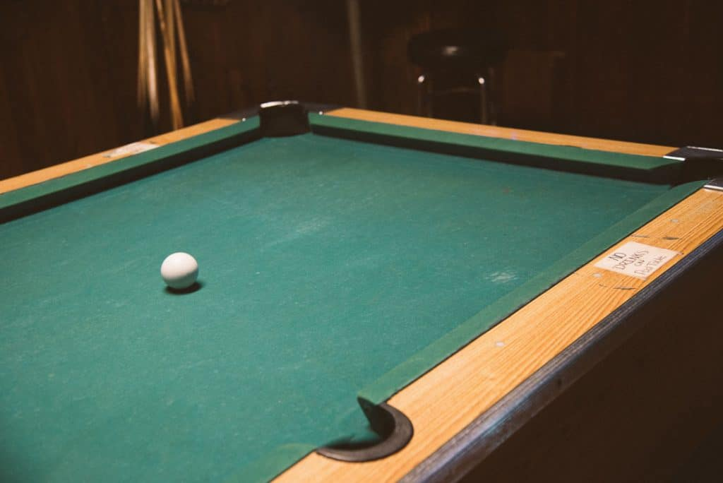 buying a used pool table